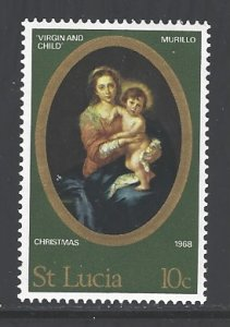 St. Lucia Sc # 238 mint never hinged (RS)