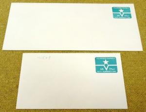 U568, U.S. Postage Envelope qty 2