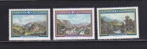 Liechtenstein 744-746 Set MNH Views