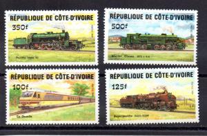 Ivory Coast 722,724,726,728 MNH