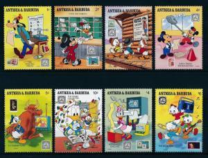 [22126] Antigua & Barbuda 1989 Disney Characters at Philatelie Society MNH