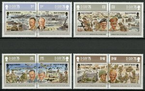 Isle of Man IOM 2019 MNH WWII WW2 D-Day 8v Set Military Ships Aviation Stamps
