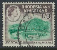 Rhodesia & Nyasaland  SG 26 SC# 166  Used / Fine used see scan and detail