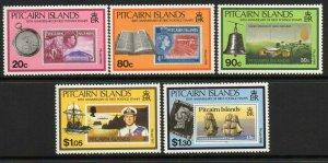 PITCAIRN ISLANDS SG380/4 1990 50th ANNIVERSARY OF PITCAIRN MNH