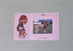 Bhutan - 149N, MNH S/S. Poodle. DCV - $12.00