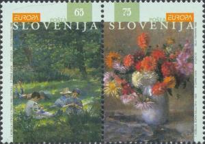 Slovenia Scott #'s 251a MH