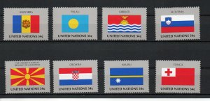 United Nations - New York 795-802 MNH