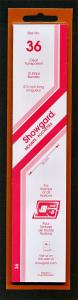 Showgard Stamp Mounts Size 36/215 mm CLEAR (Pack of 15) (36mm 36x215) STRIP