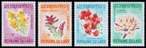 Laos Scott 152-155 (1967) Mint NH VF Complete Set W