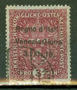 Austria N19 used see description CV $700