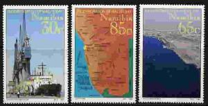 NAMIBIA 1994 WALVIS BAY - SHIP - MAP STAMPS - MINT SET!