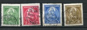 Hungary 1932 Mi 484-7 Used Madonna and Child CV 80 euro 7060