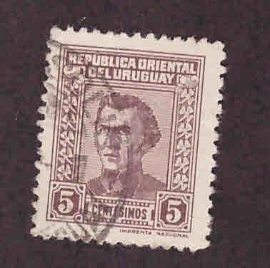 Uruguay Scott 508 used stamp