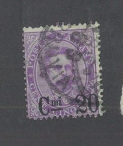 ITALY # 66 Fine Used Issue - KING HUMBERT 1890 - S8137