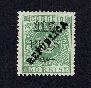 S. Thomas &Prince 1913 Local Republica MNG #153