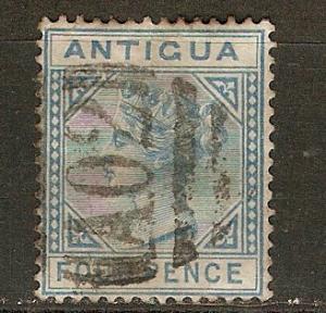 Antigua 10 SG 20 Used F/VF 1879 SCV $18.00