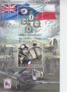 2019 Czech Republic R.A.F. Fighters - WWII SS (Scott NA) MNH