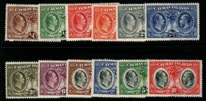 CAYMAN ISLANDS SG84/95 1932 CENTENARY SET MTD MINT