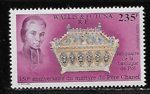 Wallis and Futuna Islands C166 Father Chanel single MNH