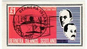 Cinderellas; Bernera, CTO, John Stringfellow Biplane, O & W Wright, £1 Rate, '79