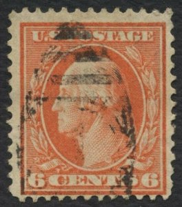 #336 6c Washington, Used [4] **ANY 4=FREE SHIPPING