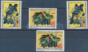 Cameroon stamp Birds MNH Imperforated 1972 Mi 715-716 WS147062