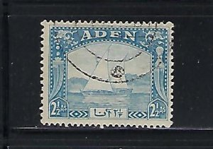 ADEN SCOTT #5 1937 DHOWS 2 1/2A  (BLUE) - USED