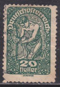Austria 208  Allegory of New Republic 1919