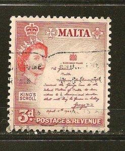 Malta 252 Kings Scroll Used