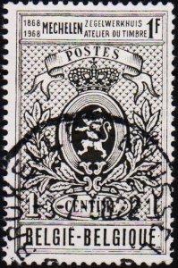 Belgium.1968 1f S.G.2069 Fine Used