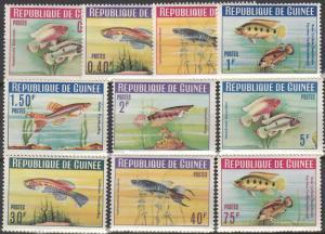 Guinea #315-24 MNH F-VF CV $7.60 (V4450L)