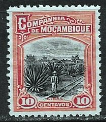 Mozambique Company ~ Scott # 126 ~  Unused ~ No Gum