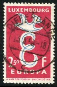 Luxembourg Scott 341 Used VFLH - SCV $0.25