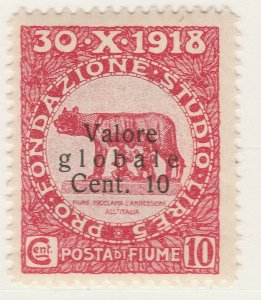Fiume 1920 Surcharge 10c on 10c Very Fine MNH** Stamp A21P11F4969
