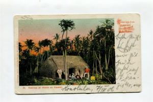Honolulu Hawaii Postcard PRIVATE MAILING CARD to Germany 1906