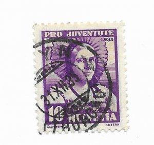 Switzerland #B74 Used - Stamp - CAT VALUE $1.10