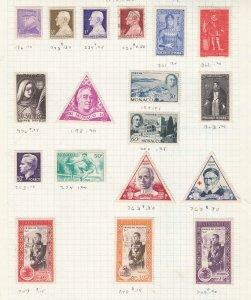 MONACO ^^^^^1950-60's   mint collection   hcv @ f2834xxbmona