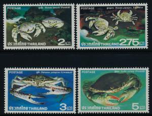 Thailand 877-80 MNH Crabs