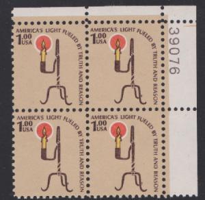 1610 Candle Holder MNH Plate block - #39076  UR
