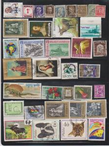 LOT OF DIFFERENT STAMPS OF THE WORLD USED (36) LOT#126