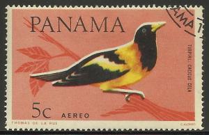 Panama Air Mail 1965 Scott# C337 CTO hinged