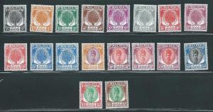 Malaya Kedah 61//81 Part set NO 68, 72, 79 MNH