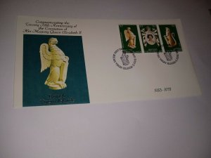 British Virgin Islands 1978 25th Anniversary of Coronation First Day Cover