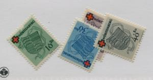 GERMANY   8NB1-4   MNH  COMPLETE SET