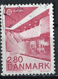 Denmark 1987: Sc. # 837: O/Used Single Stamp