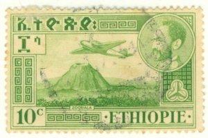 A2-0034 ETHIOPIA C24 USED BIN $.50