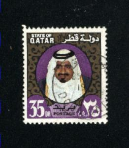 Qatar #358 used 1973-74   PD