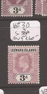 Leeward Islands King Edward 3d SG 33a MOG (4cdz)