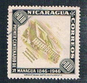 Nicaragua 704 Used Seminary (BP916)