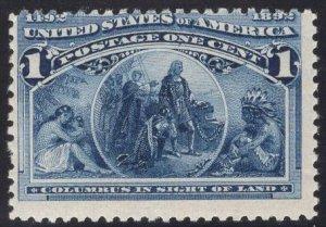 US Stamp Scott #230 MINT NH SCV $32.50